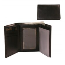 <strong>Bond Street, LTD.</strong> Calf Leather Reflections Trifold Wallet