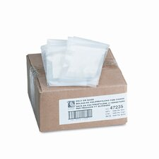 Write-On Recloseable Poly Small Parts Bags, 3 X 5 (1000/Carton)