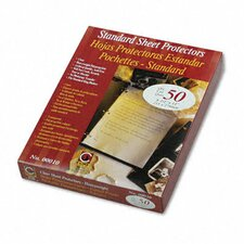 <strong>C-Line Products, Inc.</strong> Heavyweight Traditional Polypropylene Sheet Protector (50/Box)