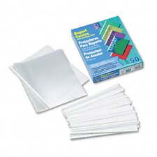 Economy Polypropylene Report Covers with Binding Bars (50/Box)