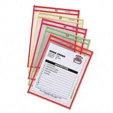 Stitched Neon Shop Ticket Holder (25/Box)