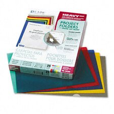 <strong>C-Line Products, Inc.</strong> Project Folders, Jacket, Letter, Poly, 25/Box