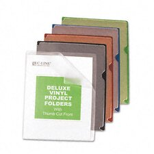 <strong>C-Line Products, Inc.</strong> Deluxe Project Jacket Folders (35/Box)