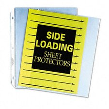 Side Loading Polypropylene Sheet Protector (50/Box)