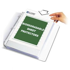 <strong>C-Line Products, Inc.</strong> Biodegradable Sheet Protectors (100/Box)