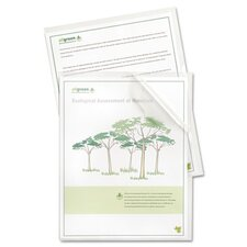Biodegradable Project Folders with Reduced Glare (25/Box)