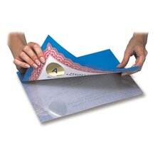 "Laminating Sheets, 4""x5"", Clear Sheets"