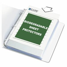 Biodegradable Sheet Protector (50 Pack)