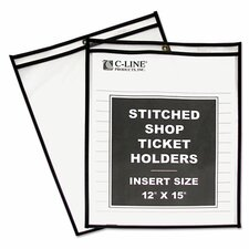 Stitched Shop Ticket Holder (25 Pack)