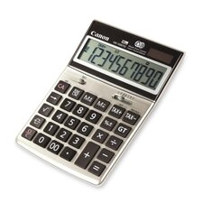 "10-Digit Desktop Calculator, Dual Power, 6-3/4""x4-5/8""x1-3/8"""