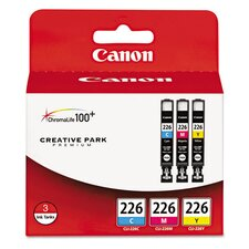 <strong>Canon</strong> Cli 226 Ink Cartridge (Set of 3)