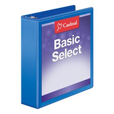 BasicSelect ClearVue Round Ring Binder (Set of 6)