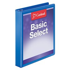 BasicSelect ClearVue Round Ring Binder (Set of 12)