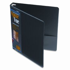 Spinevue Round Ring View Binder, 1in Capacity