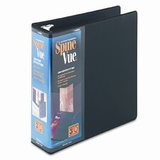 Spinevue Round Ring View Binder
