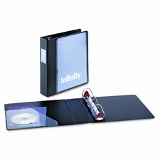 "Infinity Clearvue Locking Slant-D Ring Binder, 2"" Capacity"