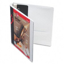 "Recycled Clearvue EasyOpen Vinyl D-Ring Presentation Binder, 1"" Cap"