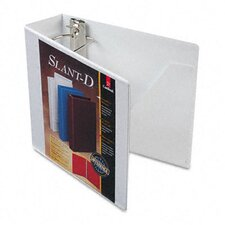 Clearvue Premium Slant-D Vinyl Presentation Binder, 3in Capacity