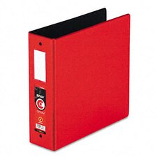 "Easyopen Locking Round Ring Binder, 11 X 8-1/2, 3"" Capacity"