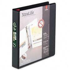 Clearvue Xtralife Slant-D Presentation Binder, 1-1/2in Capacity