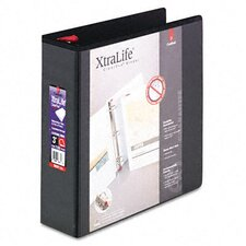 "Clearvue Xtralife Slant-D Presentation Binder, 3"" Capacity"