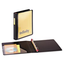 "Infinity Clearvue Locking Slant-D Ring Binder, 1"" Capacity"