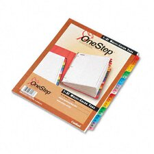Traditional Onestep Index System, 31-Tab, 1-31, Letter (Set of 31)