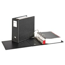 "Slant-D Ring Binder, Heavy-Duty, 5"" Capacity, Black"