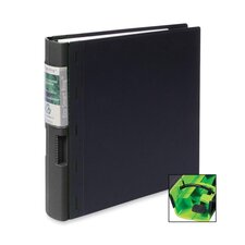 "Recyclable Binder, 2"" Capacity, 11""x8-1/2"", Black/Black"
