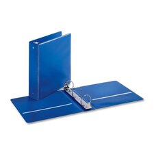"EconomyValue Round-ring Binders, w/ 2 Pockets, 2"" Cap., Medium Blue"