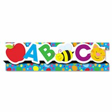 Abcs/123S8 Pop-It Border, 8 Strips/Pack