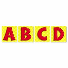 45 Pieces Quick Stick Letters Set, 45 Pieces