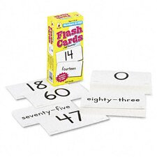 Numbers 0-100 Flash Cards, 104/Pack