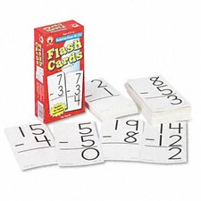 Subtraction Facts 0-12 Flash Cards, 94/Pack