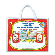<strong>Carson-Dellosa Publishing</strong> Grade 2 Problem Solving Math Game