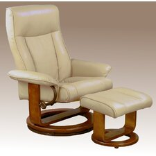 Ergonomic Recliner and Ottoman