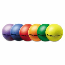"Rhino Skin Ball Sets, 8.5"", Blue, Green, Orange, Purple, Red, Yellow (Set of 6)"