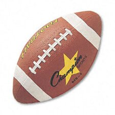 Rubber Sports Ball for Football, Intermediate Size