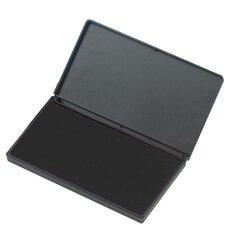 "Foam Ink Pad, 2-3/4"" x 4-1/4"", Nontoxic, Reinkable, Black"