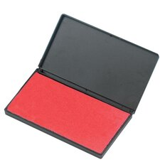 """Foam Ink Pad, 2-3/4"""" x 4-1/4"""", Nontoxic, Reinkable, Red"""