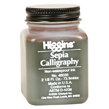 <strong>Higgins</strong> Non-Waterproof Sepia Calligraphy Ink