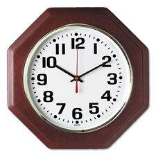 Octagon Quartz Wall Clock
