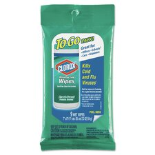 Disinfecting Cleaner/Detergent Wet Wipe