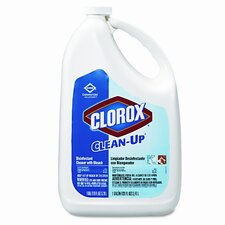 Clean-Up Cleaner with Bleach, 128 Oz. Bottle