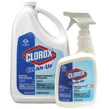 Clorox - Clean-Up Cleaners With Bleach Clean-Up W/Blch 32 Oz. Commercl Sol Sp: 158-35417 - clean-up w/blch 32 oz. commercl sol sp