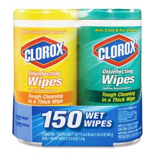 <strong>Clorox Company</strong> Disinfecting Wipes (Set of 2)