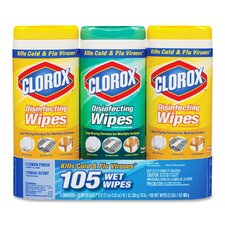 <strong>Clorox Company</strong> Disinfecting Wipes (Set of 3)