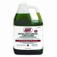 Ajax Expert Neutral Multi-Surface/Floor Cleaner, Citrus, 1 Gal. Bottle