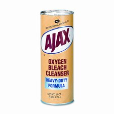 Oxygen Bleach Powder Cleanser, 21oz Container, 24/carton
