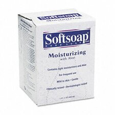 Softsoap Moisturizing Soap with Aloe, Unscented Liquid, Dispenser, 800Ml